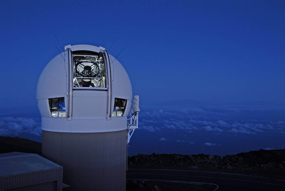 Image result for pan starrs telescope