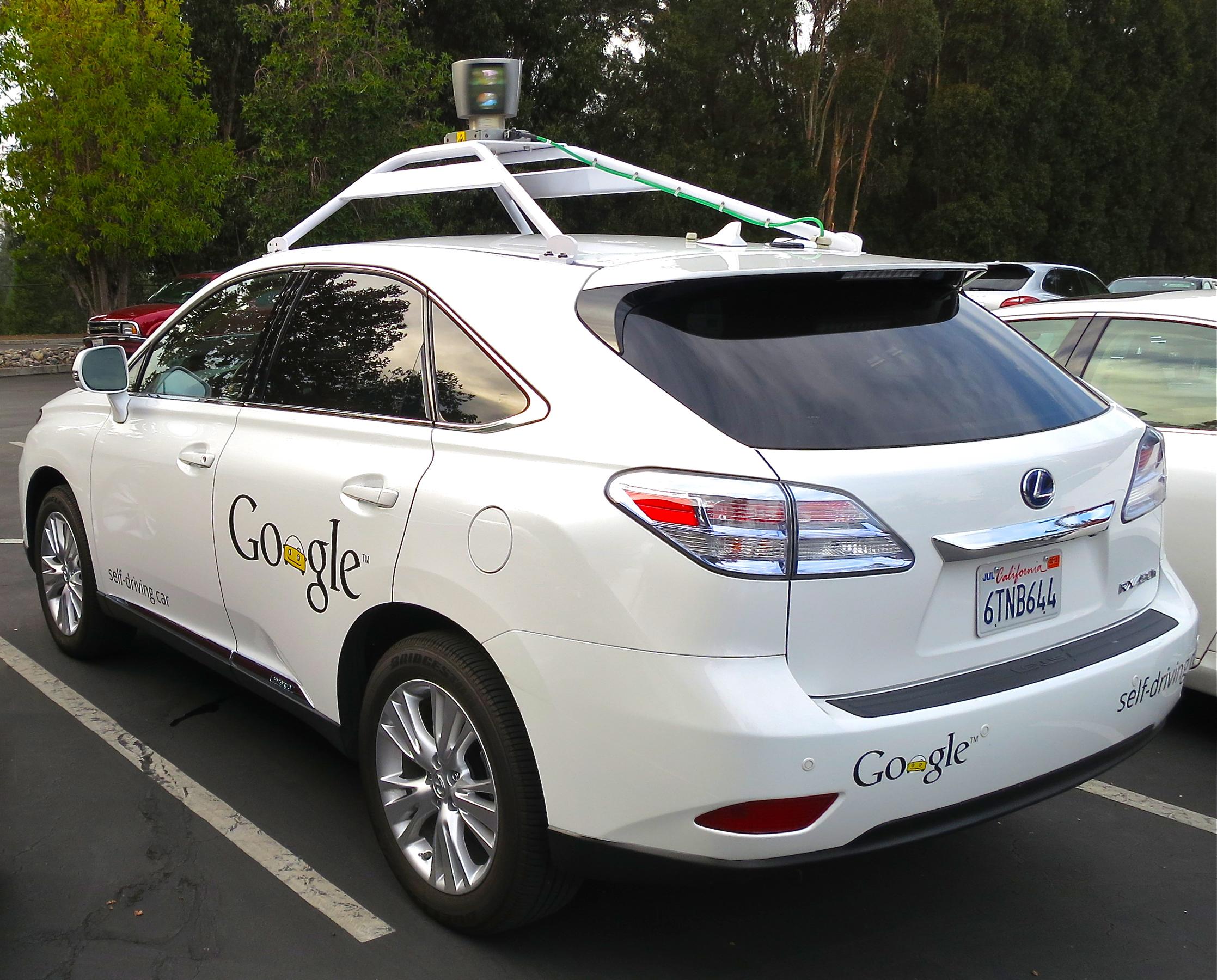 Image result for google self driving car