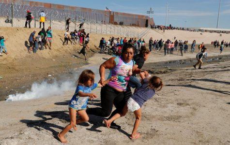 Migrants Near The U.S. Border Shot With Tear Gas